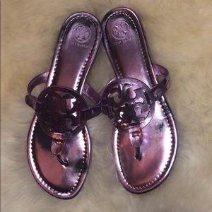 Tory Burch Shoes - Metallic Miller Sandals